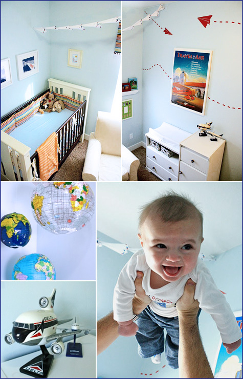 Jett's Before & After Boy's Nursery Room 6 DIY Makeover