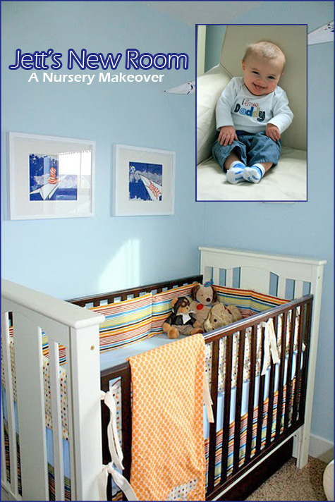 Jett's Before & After Boy's Nursery Room 1