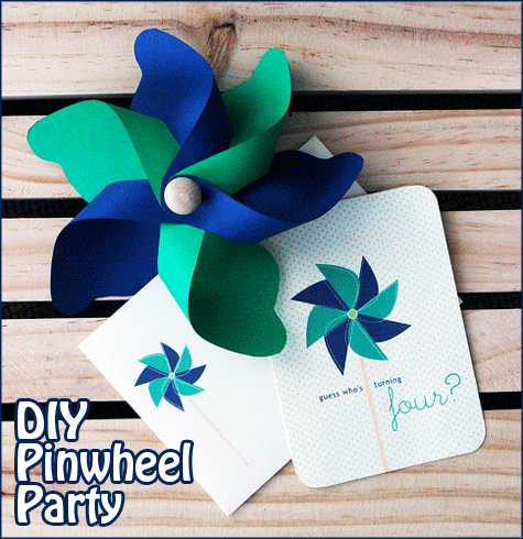 DIY Pinwheel Party 1