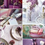 A Winter Wonderland: Purple & White Shower