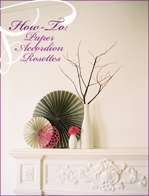 Handmade Paper Rosette Accordion 5