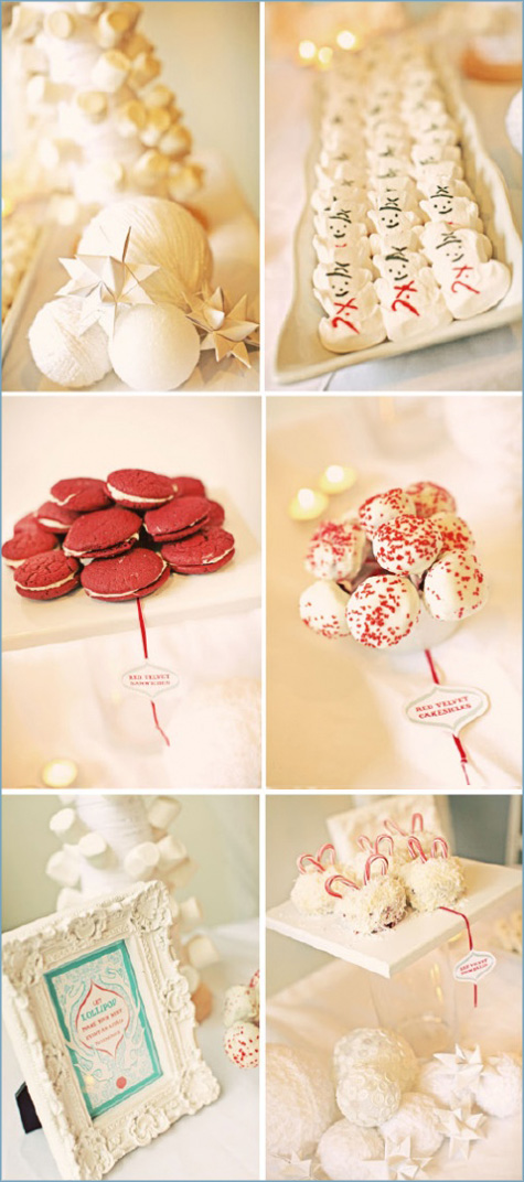 Winter Wonderland Dessert Bar Inspiration 4