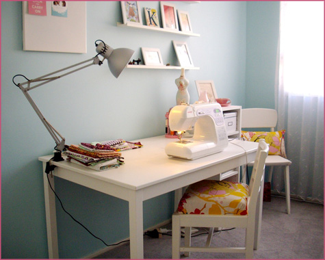 Friday Guest Blog Interview: All Things Lovely Room Workspace