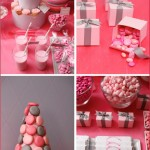 A Pink & Grey Valentine's Dessert Party