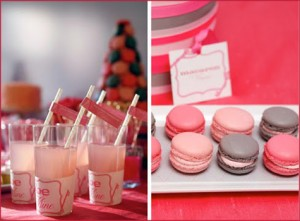 Valentine's Day Dessert Buffet Inspiration: Pink & Red 4