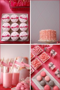 Valentine's Day Dessert Buffet Inspiration: Pink & Red 3