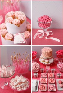 Valentine's Day Dessert Buffet Inspiration: Pink & Red 2