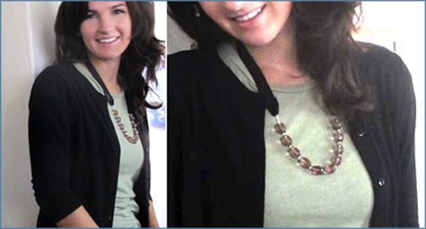 Ribbon Necklace Tutorial 1