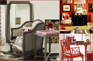 Rooms Inspired by February, Pink, Red 2