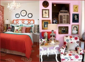 Rooms Inspired by February, Pink, Red 7