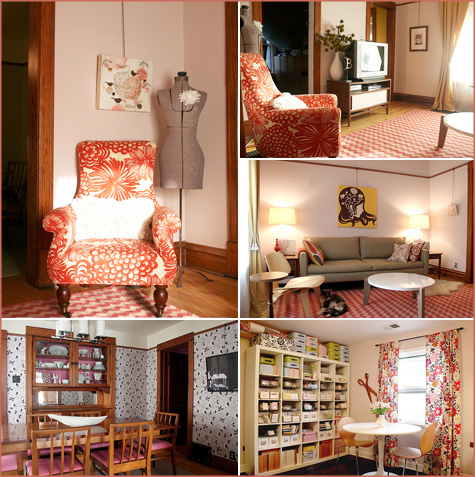 Rooms Inspired by February, Pink, Red 6