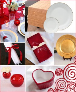 Valentine's Day Giveaway Social Couture Red Modern Dinner Party Romantic 2