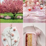 Cherry Blossom Inspiration, Branches, Pink, Dessert, Party, Decor, Decorations
