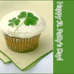 Clover Cupcake Green Party Inspiration Decor Decoration St. Patty's Day St. Patrick's Day