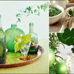 St. Patty's Day Decor Party Inspiration, Green, Centerpieces