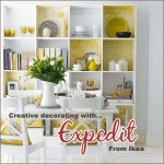 Organizing with Expedit {and it's pretty, too}