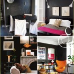 Black Accent Walls, Dark Wall Inspiration Chalkboard, blackboard walls