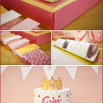 A Pink & Gold Princess Party by Amy Atlas