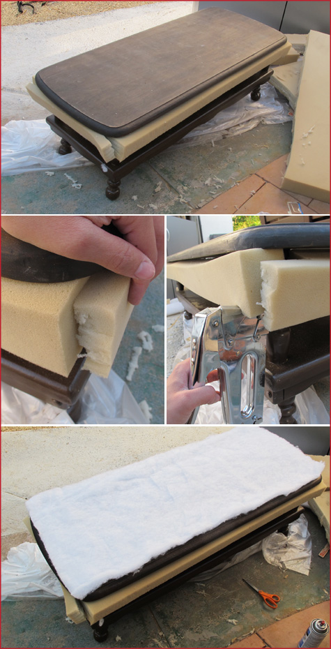Diy tutorial turning a coffee table into an ottoman pepper design step solutioingenieria Images