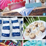 Labor Day, 4rth of July, Party, Inspiration, BBQ, Recipes, Good Eats, Beverages, Drinks, Blue, Red & White, Vintage, Antique, DIY, Handmade