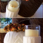 Just in Time for Fall: Recycled Sweater Vases