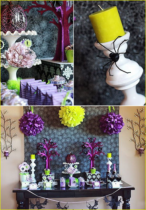 Halloween Table Settings Setting Ideas Halloween tablescapes decoration
