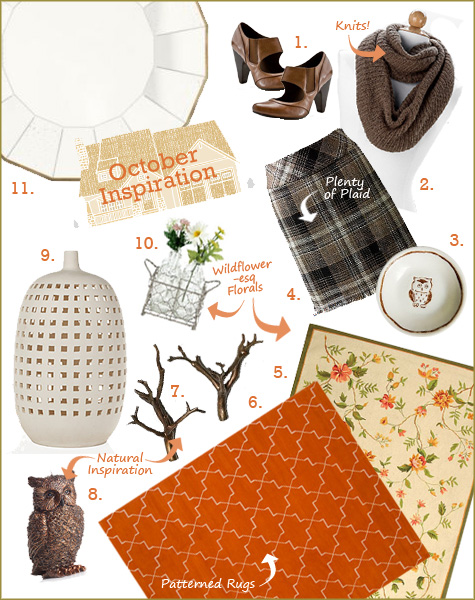 Fall Inspiration Board, Home, Clothes, Fashion, Wardrobe, Plaid, Rugs, Mirrors