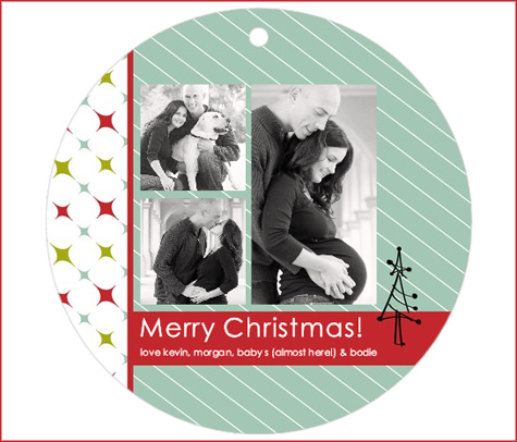 Tiny Prints, Maternity Christmas Cards
