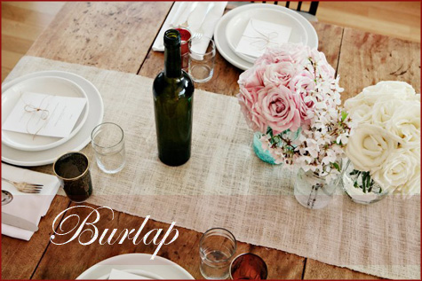DIY Handmade Burlap Table Runner Napkin Inspiration, Decor Decoration Tablescape, Thanksgiving Fall