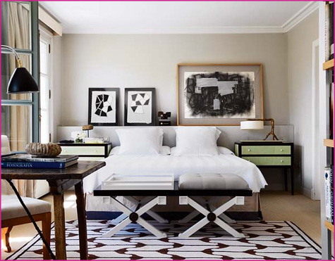 La Dolce Vita Guest Blog Interview - High Gloss Magazing, Mag - Pepper Design Blog - White Bedroom, Modern, Contemporary