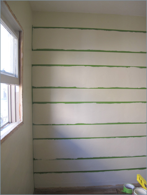 Striping Walls, Striped, How-To, How To, DIY, Paint