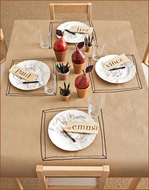 Thanksgiving tablescape, table, centerpiece, decor, inspiration, decorations, flowers, burlap, pink, red, orange, outdoors, kids table, rustic, vintage, red