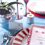 'Tis the Season' Red & Aqua Party Inspiration