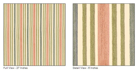 Thibaut Baltic Stripe, Nursery Makeover, DIY, Fabric, Curtains