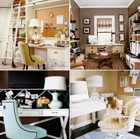 Home Office Inspiration, Makeover, Guestroom, Bedroom, DIY