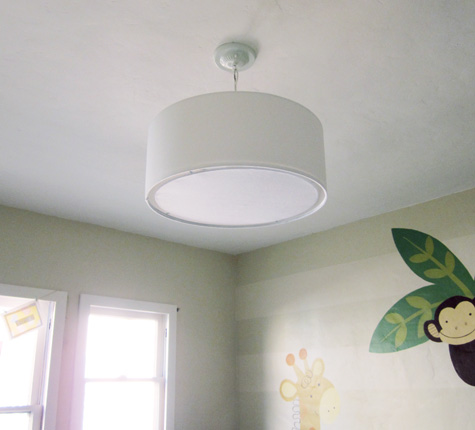 New Pendant Light for the Nursery - After