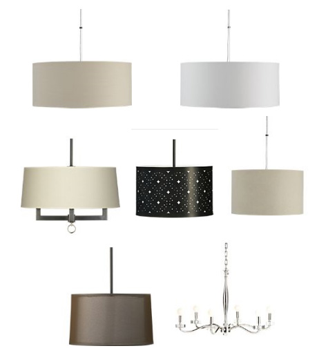 New Pendant Light for the Nursery - Selection from Crate & Barrel