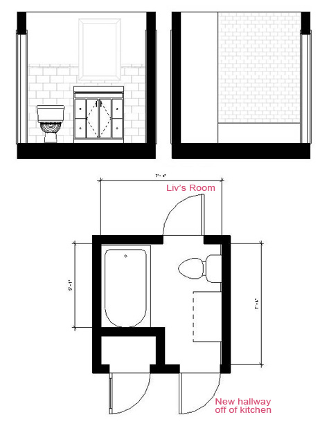 New Guest Bathroom Layout