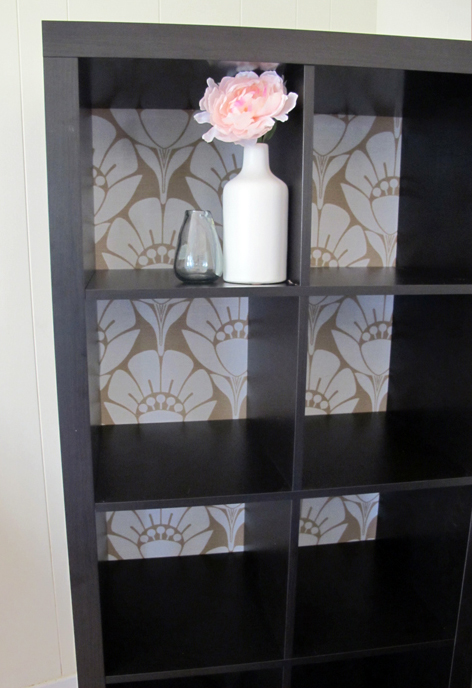 Bookcase Makeover Before & After