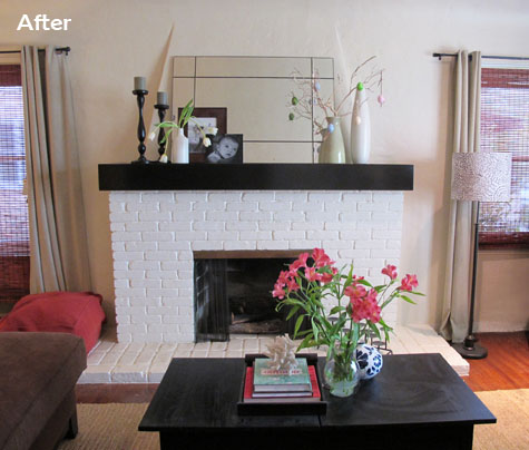 Beautiful More Living Room Posts: Mantel ...