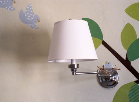 Wall Sconce, Nursery, DIY
