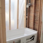 Building a Bathroom: Tiling with Recycled Glass