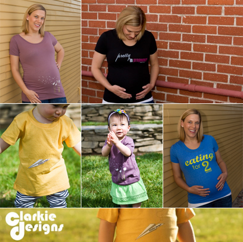 New Mama Giveaway - Clarkie Designs