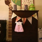 Project Nursery: No Sew Fabric Pennant