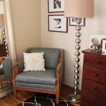 Master Bedroom: A 'New' Salvaged Chair