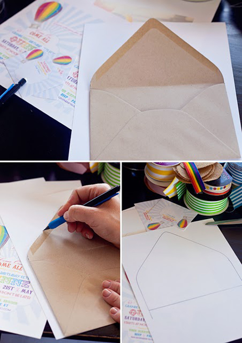 DIY Envelope Liner 2