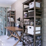 Office Makeover: Organizing the Bookshelves