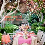 Whimsical Summer-Meets-Fall Outdoor Party