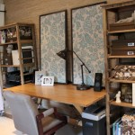 Office Makeover: Finished Fabric Corkboards