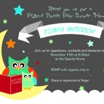 Bedtime Stories Baby Shower Part 1